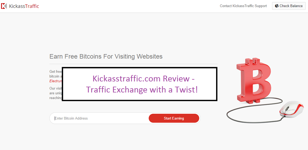 Kickasstraffic com Review – A traffic exchange with a twist